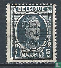 Belgique [BEL] - Le roi Albert I (type Houyoux), imprimé