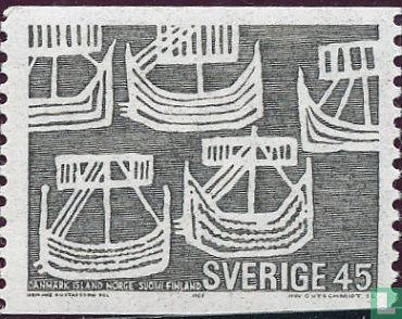 Schweden [SWE] - Postal Zusammenarbeit