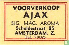 Voorverkoop Ajax - Sig. Mag. Aroma