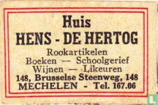 Huis Hens-De Hertog