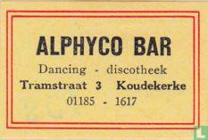 Alphyco bar