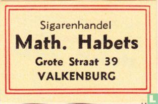 Sigarenhandel Math. Habets