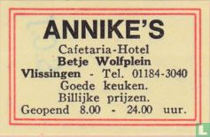 Annike's - Cafetaria-Hotel