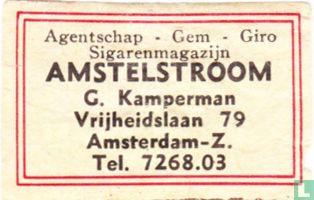 Sigarenmagazijn Amstelstroom - G. Kamperman