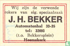 J. H. Bekker