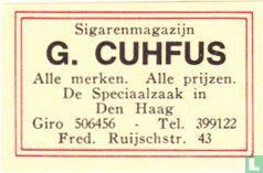 Sigarenmagazijn G. Cuhfus