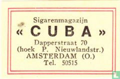 Sigarenmagazijn Cuba