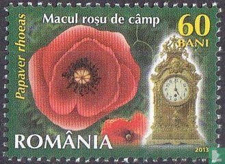 Roemenië [ROU] - Bloemen en uurwerken