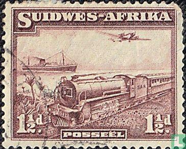 Südwestafrika - Postverkehr
