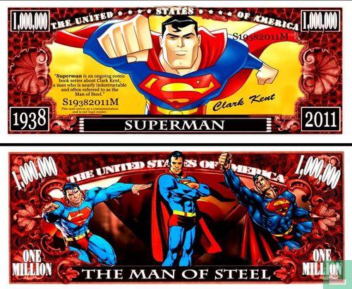 Curiosa en Funbiljetten (Funbiljetten en Curiosa) - SUPERMAN biljet