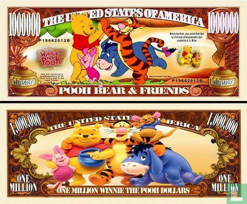 Curiosa en Funbiljetten (Funbiljetten en Curiosa) - POOH BEAR and FRIENDS biljet