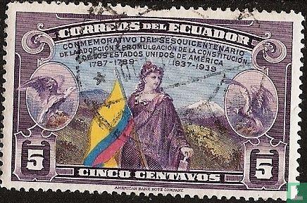 Ecuador - 150 years of US Constitution