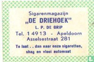 Sigarenmagazijn De Driehoek - L.P. de Grip