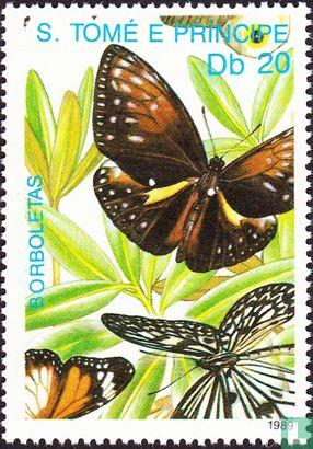 Sao Tomé en Principe - Vlinders