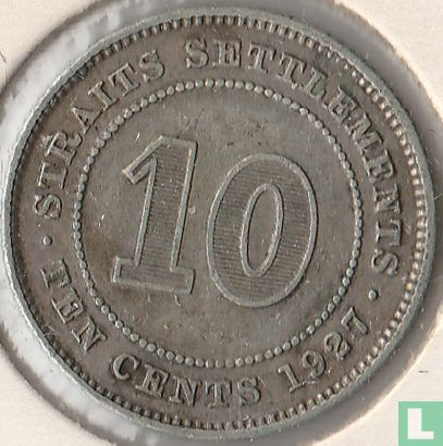 Straits Settlements - Straits Settlements 10 cents 1927