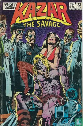 Ka-Zar - Ka-zar The Savage 23