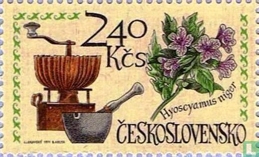Tsjechoslowakije - Geschiedenis van de farmacie
