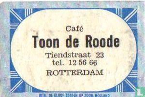 Café Toon de Roode