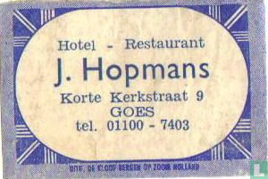 Hotel Restaurant J.Hopmans