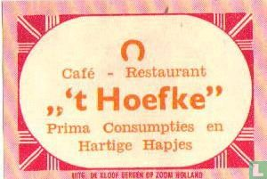 """Café Rest """"'t Hoefke"""""""