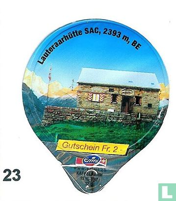 Lauteraarhütte CAS, 2393m BE