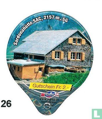 Sardonahütte SAC, 2157m SG