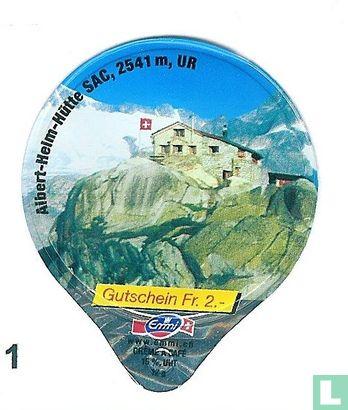 Albert-Helm Hütte SAC, 2541m.UR