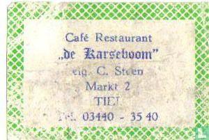 Café Rest. De Karseboom - C.Steen