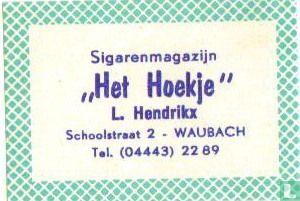 Sigarenmagazijn Het Hoekje - L.Hendrikx