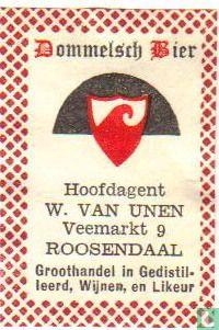 Dommelsch Bier - W. van Unen