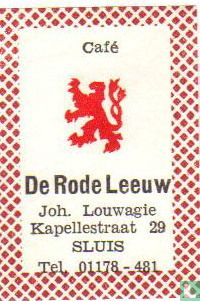 Café De Rode Leeuw - Joh. Louwagie