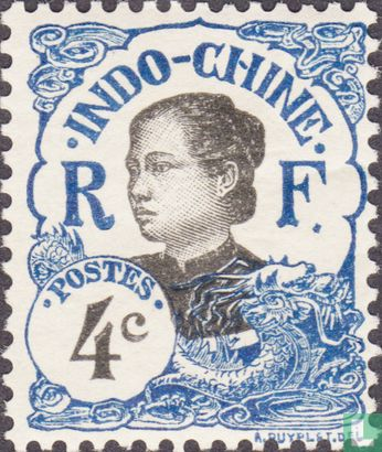 Indochina - Vrouw uit Annam