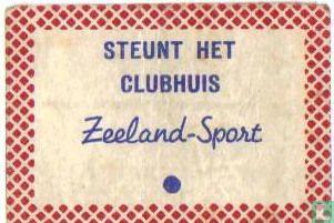 Steunt het clubhuis Zeeland Sport