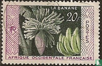 French West Africa - Banana production