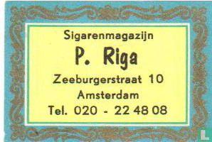 Sigarenmagazijn P.Riga