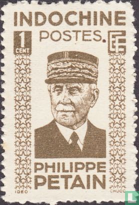 Indochina - Maarschalk Pétain