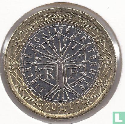 France - France 1 euro 2001