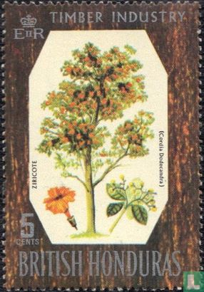 British Honduras - Native Trees