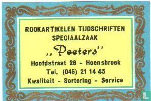 Rookartikelen Tijdschriften Speciaalzaak Peeters