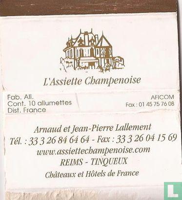 L'Assiette Champenoise - A. J.P. Lallement - Image 1