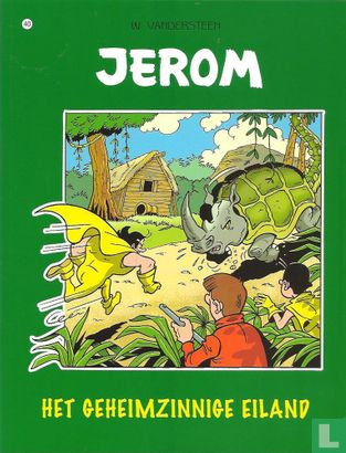 Jérôme - Het geheimzinnige eiland
