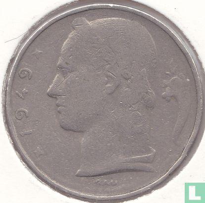 België - België 5 francs 1949 (FRA - muntslag)