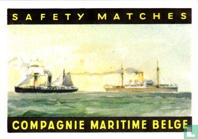 Compagnie Maritime Belge schepen - Afbeelding 1