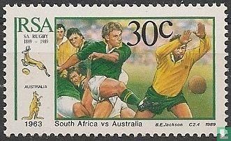 Zuid-Afrika - 100 jaar Rugbybond