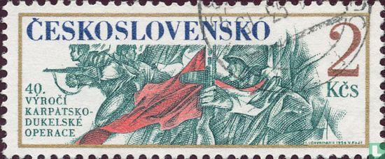 Tsjechoslowakije - Dukla Operaties in de Karpaten