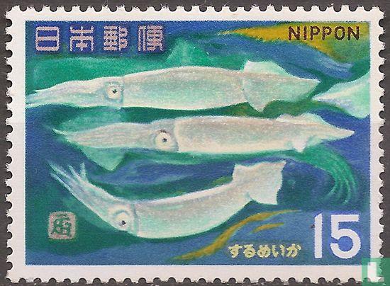 Japan [JPN] - Fish and marine animals