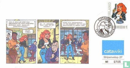 Netherlands [NLD] - Comics envelope 27: Rubine
