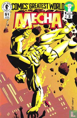 Comics' Greatest World - Comics' Greatest World Mecha