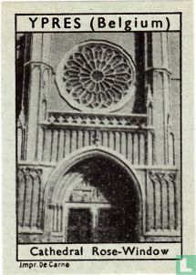 Ypres - Cathedral Rose-Window