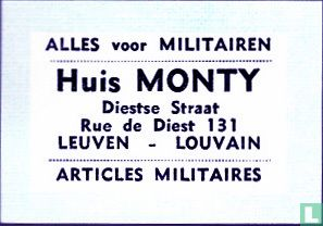 Huis Monty - Alles voor Militairen